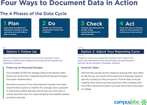 Four Ways to Document Data in Action